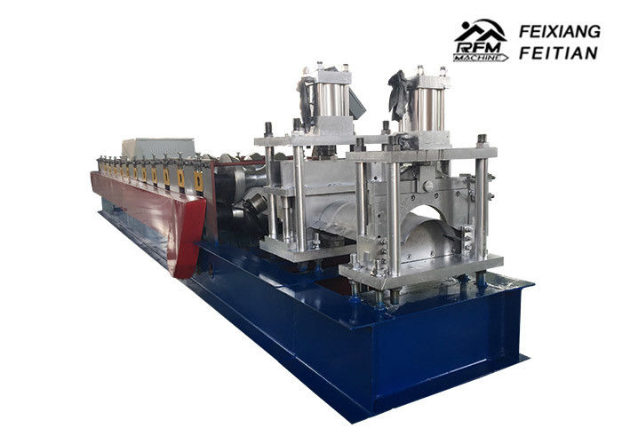 Steel Metal Roof Glazed Tile Roll Forming Machine With Hydraulic Cutter