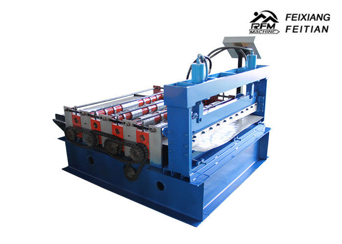 Building Material Color Steel Roll Forming Machine 380v 50HZ Roll Forming Production Line