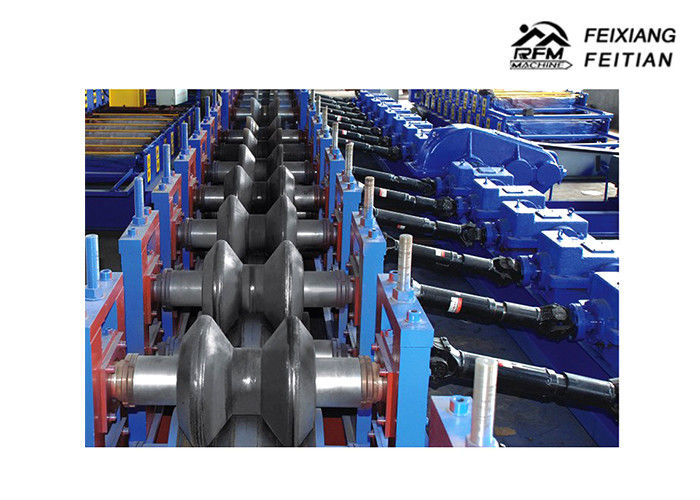 Two / Three Waves Highway Guardrail Roll Forming Machine for Highway road