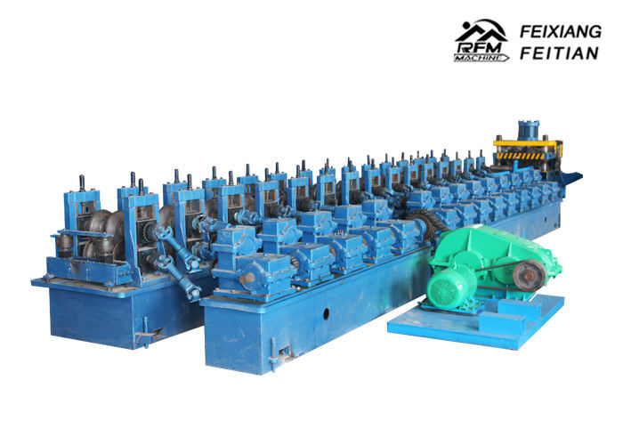 Road Structural Highway Guardrail Roll Forming Machine For Traffic Barrier