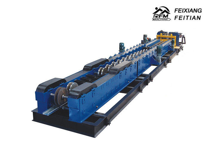 Automatic C Channel Roll Forming Machine Chain Drive Type With Variable Width