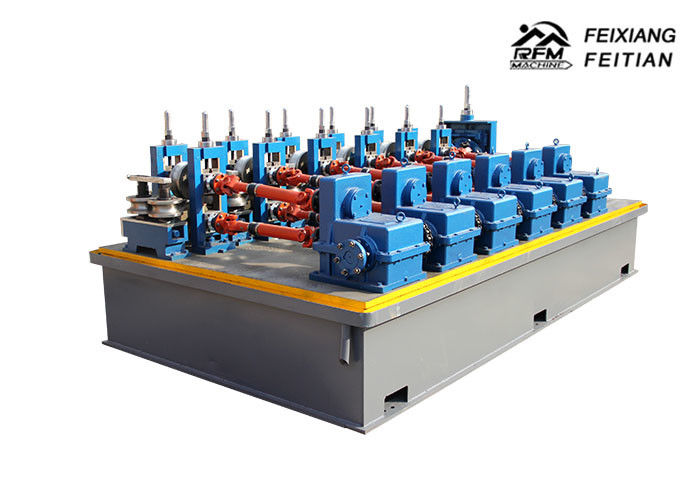 Automatic Steel Tube Making Machine , Stainless Steel Pipe Welding Machine