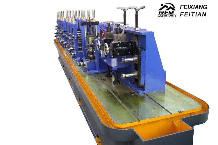Aluminum Automatic Cold Roll Forming Machine , Reliable Steel Pipe Bending Machine
