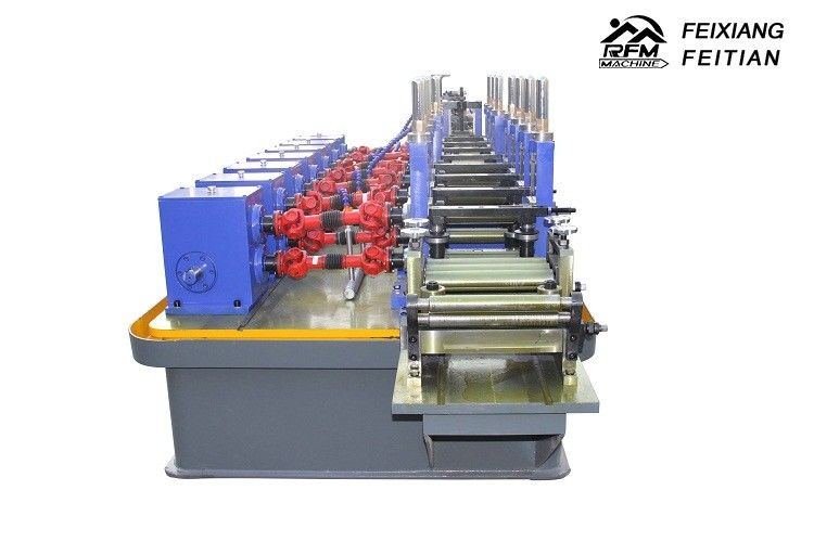 Reliable SS Pipe Welding Machine Easy Operate Welded Pipe Making Machine
