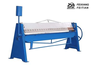 Ukuran Cutting Disesuaikan Dan Menggorok Mesin 3.2m Lebar Manual Sheet Metal Folding Machine
