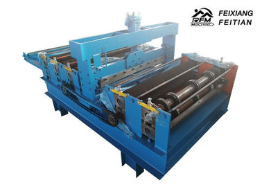 Simple Type Steel Cutting Dan Slitting Machine 10m / Min Speed ​​Dengan Stabil Menjalankan